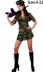 Private Tease Army Costume